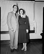 : Aubrey Deaton Wedding, Sept 21 1951