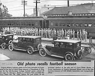: Cadets 1949 train station 9th s