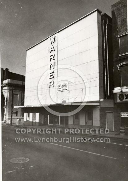 : Main St, 100 block, Warner theater