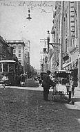 Main Street - Lynchburg Virginia - Cobble Stones