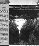Railroad Bridge - Fink Deck Truss