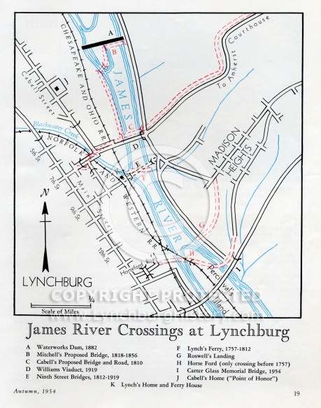 James River Crossings at Lynchburg