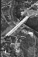 Rivermont Bridge - Aerial View 1974