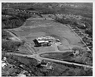 News Building - Aerial Front