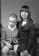 : Earl Levy, son Nelson, Nov 19, 1966
