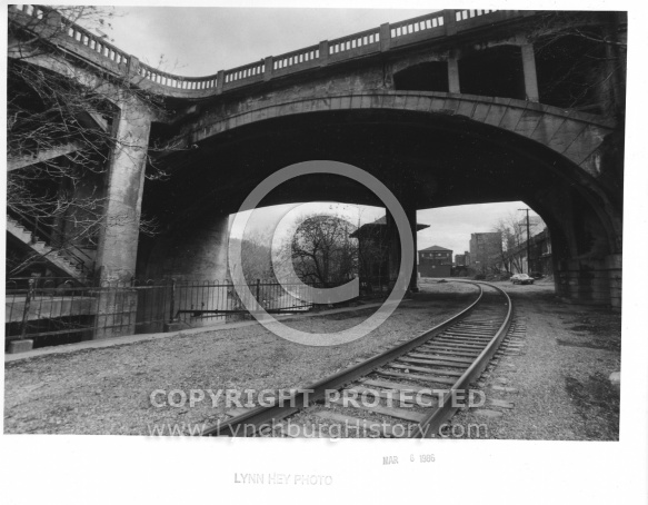 Williams Viaduct Bridge - Railroad Tracks 1986