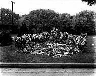 : Mrs. Cora Irvin, grave, 1946