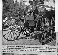 Lee James - Holsman Horseless Carriage