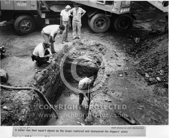 Kanawha Canal - Archeological Dig