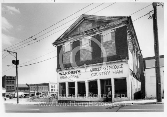 Warrens Meat Market - 1986