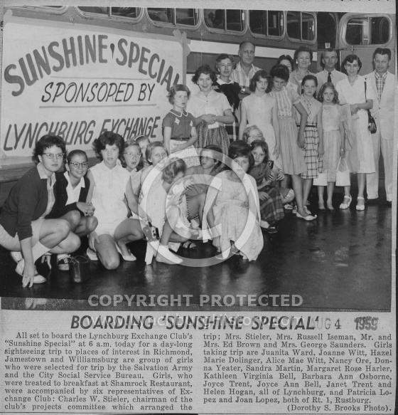 : Sunshine special girls