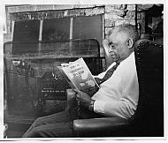 : Spencer Chauncey reading