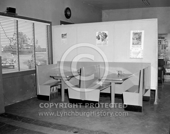 : Baby Shaner Wards Rd. Resturaunt, January 30, 1955