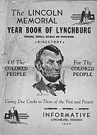 Black History Yearbook of Lynchburg - 1940