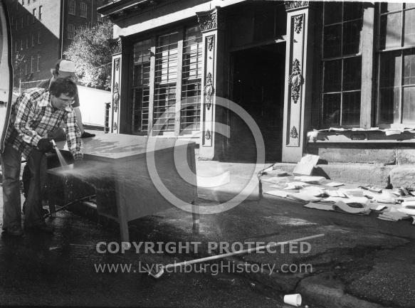 Flood - J.W. Wood Building - November 1985