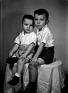 : Bobbie Bryant - portrait of two boys
