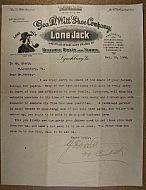 : Lone Jack Letter jg