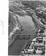 Williams Viaduct Bridge - Aerial 1985