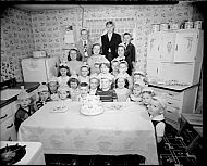 : Brooks Birthday Party, April 24 1951