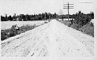 Road Alongside a Field