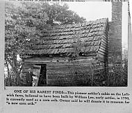 Lee James - Pioneer Log Cabin