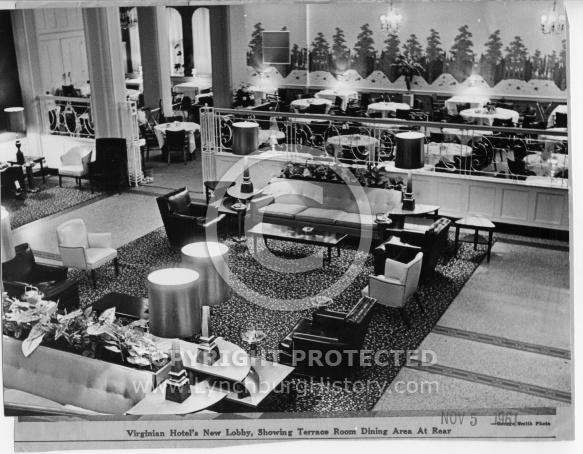 : Virginian Hotel lobby 61