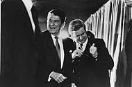 Jerry Falwell and Ronald Reagan - 1980