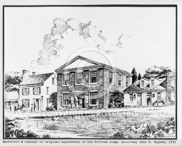 Warrens Meat Market - Hughes Drawing