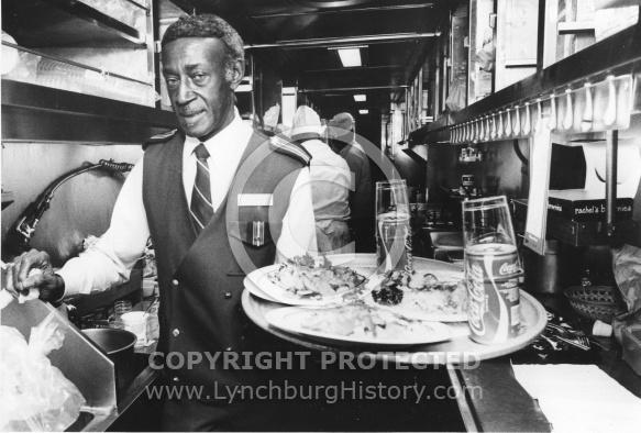 Amtrak Waiter Fred Smith - 1985