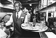 Amtrak Waiter Fred Smith - 1985