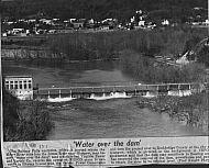 Balcony Falls Dam - 1973