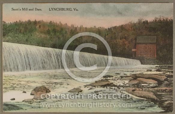 Bridges and Rivers : Water Scotts mill dam jg