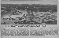 : Odd fellows new home