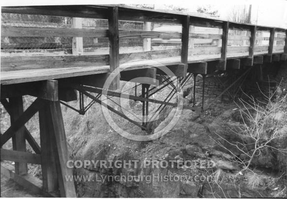 Fink Truss Deck Bridge - 1984