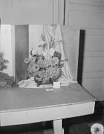 : Flower Show M.E. Church October 10, 1955, Shaner Wright Flowers
