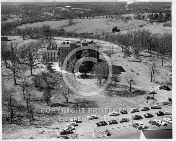 Miller Home - Aerial 1959