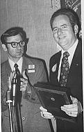 Jerry Falwell Receives Toastmaster's Award