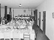 : American Legion Aux. Banquet at Christian Church Basement, April