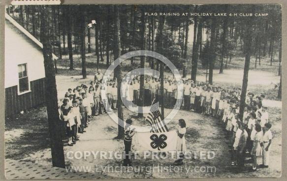 : Appomattox Holiday Lake flag jg