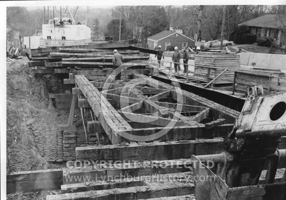 Fink Truss Bridge Deck in 1985