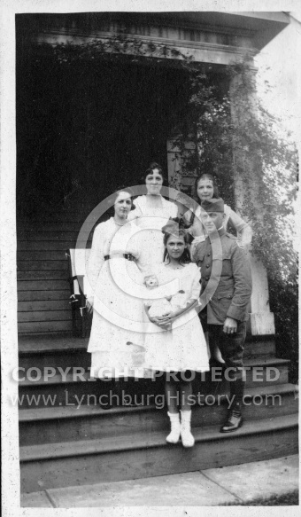 Family Group - With Doll and Soldier