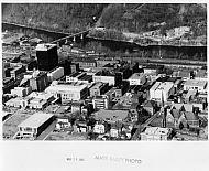 Lynchburg Downtown - Aerial 1985