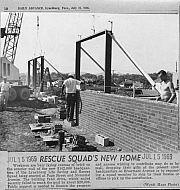 : Bldg rescue squad 1969