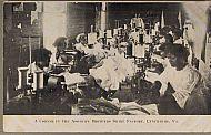 : Factory shirt workers jg