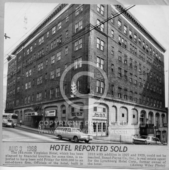 : Virginian Hotel sold 68