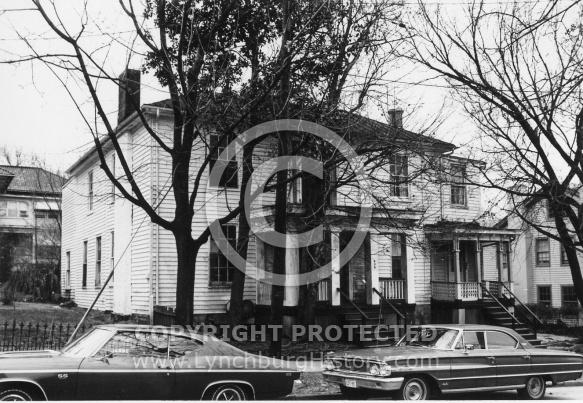 : Harrison St. 400 block, now demolished