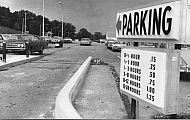 : Airport parking sign